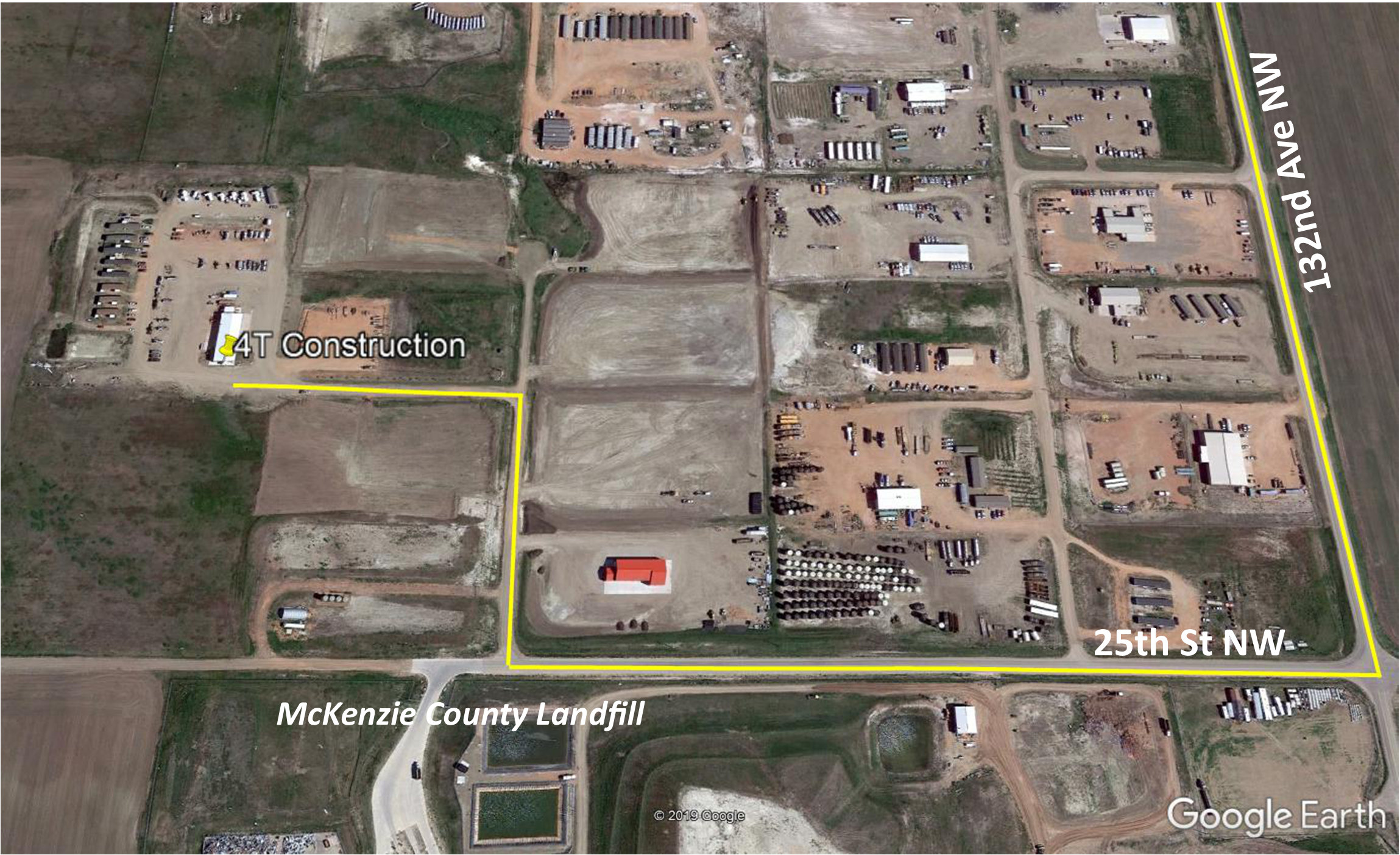 Google Earth to Yard